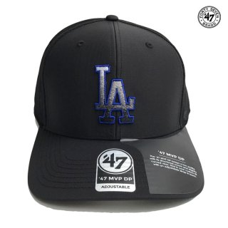 <img class='new_mark_img1' src='https://img.shop-pro.jp/img/new/icons59.gif' style='border:none;display:inline;margin:0px;padding:0px;width:auto;' />47 BRAND MVP DP CAP LOS ANGELES DODGERS【BLACK】
