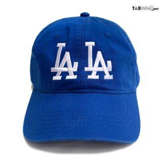 【メール便対応】YAHWEHS EYES STRAP BACK CAP【BLUE】【LALA】