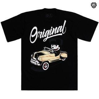【メール便対応】OG FAMILY FELIX PEDAL CAR Tシャツ【BLACK】