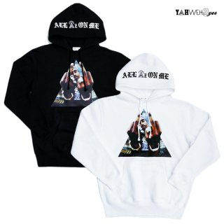 <img class='new_mark_img1' src='https://img.shop-pro.jp/img/new/icons20.gif' style='border:none;display:inline;margin:0px;padding:0px;width:auto;' />【SALE★50%OFF】【送料無料】YAHWEHS EYES PULLOVER HOODIE【WHITE/BLACK】