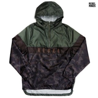 <img class='new_mark_img1' src='https://img.shop-pro.jp/img/new/icons20.gif' style='border:none;display:inline;margin:0px;padding:0px;width:auto;' />【SALE★50%OFF】REBEL MINDS WINDBREAKER JACKET【OLIVE】