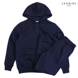 <img class='new_mark_img1' src='https://img.shop-pro.jp/img/new/icons20.gif' style='border:none;display:inline;margin:0px;padding:0px;width:auto;' />【SALE★40%OFF】LEONINE PULLOVER SWEAT SETUP【NAVY】