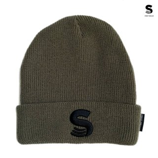 【メール便対応】STREET DREAMS SURVIVAL BEANIE【OLIVE】