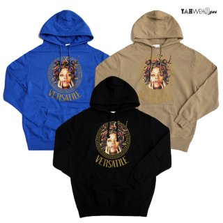 【送料無料】YAHWEHS EYES PULLOVER HOODIE【WHITE/BLACK/BLUE/SAND】