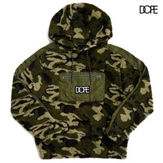 <img class='new_mark_img1' src='https://img.shop-pro.jp/img/new/icons20.gif' style='border:none;display:inline;margin:0px;padding:0px;width:auto;' />【SALE★40%OFF】DOPE SHERPA LOUNGE HOODIE【CAMOUFLAGE】