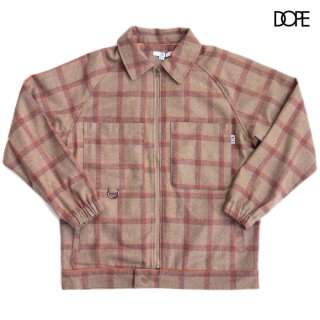 <img class='new_mark_img1' src='https://img.shop-pro.jp/img/new/icons20.gif' style='border:none;display:inline;margin:0px;padding:0px;width:auto;' />【SALE★50%OFF】DOPE TARTAN JACKET【BEIGE】