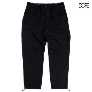 【送料無料】DOPE ASON CARGO PANTS【BLACK】