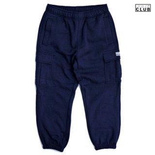 PRO CLUB HEAVYWEIGHT CARGO SWEAT PANTS【NAVY】