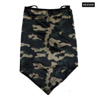 【メール便対応】REASON CLOTHING CAMO FACE MASK【CAMOUFLAGE】