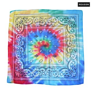 【メール便対応】REASON CLOTHING FLARE UP BANDANA【MULTI COLOR】
