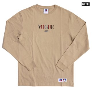 【送料無料】KITH × RUSSELL ATHLETIC × VOGUE L/S SHIRTS -BROOKLYN-【SESAME】