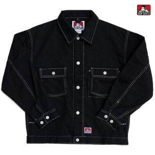 【送料無料】BEN DAVIS TWILL TRACKER JACKET【BLACK】
