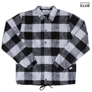 【送料無料】PRO CLUB LUMBERJACK COACH JACKET【GRAY】