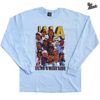 【送料無料】RAP ATTACK LA LA L/S Tシャツ【LIGHT BLUE】