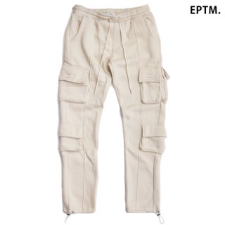 【送料無料】EPTM FLEECE CARGO PANTS【KHAKI】