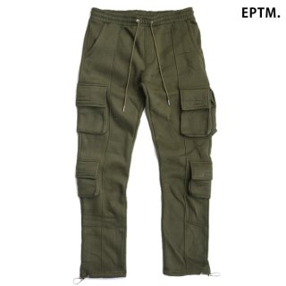 【送料無料】EPTM FLEECE CARGO PANTS【OLIVE】