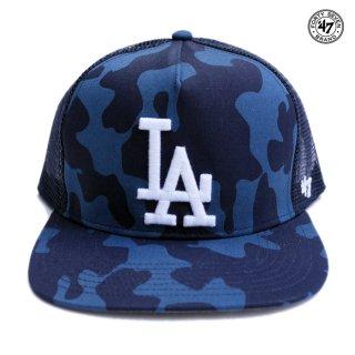 '47 STEALTH CAMO' 47 CAPTAIN MESH CAP LOS ANGELES DODGERS【NAVY CAMO】