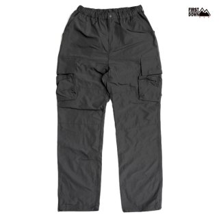 【送料無料】FIRST DOWN MEMORY CARGO PANTS【CHARCOAL GRAY】