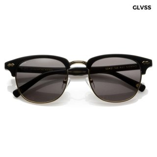 【送料無料】GLVSS SUNGLASSES -NOMAD-【BLACK】