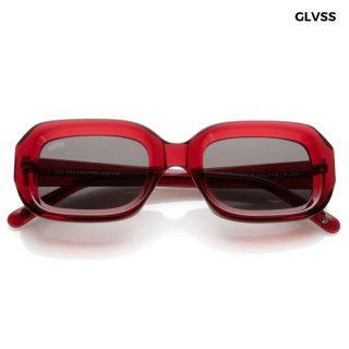 【送料無料】GLVSS SUNGLASSES -THE CRUSH-【RED】