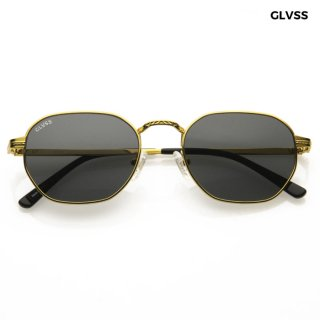 【送料無料】GLVSS SUNGLASSES -THE FLASH-【GOLD×SMOKE】