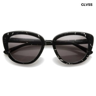 【送料無料】GLVSS SUNGLASSES -THE MUSE-【BLACK】