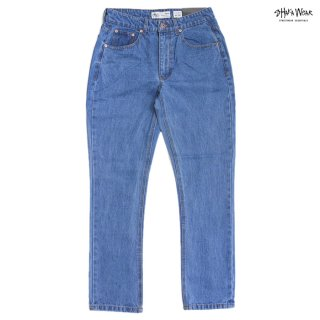 【送料無料】SHAKA WEAR 13.0 OZ DENIM JEANS【WASH L.BLUE】【LENGTH 30】
