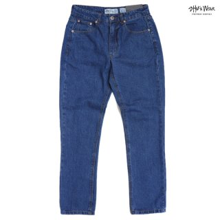 【送料無料】SHAKA WEAR 13.0 OZ DENIM JEANS【WASH D.BLUE】