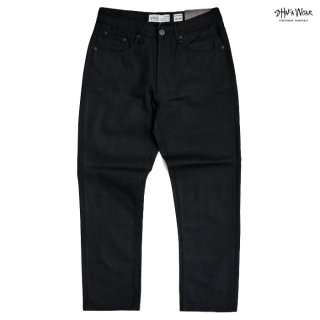 【送料無料】SHAKA WEAR 13.0 OZ DENIM JEANS【BLACK】