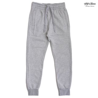 SHAKA WEAR 8.5 OZ FLEECE JOGGER PANTS【H.GRAY】