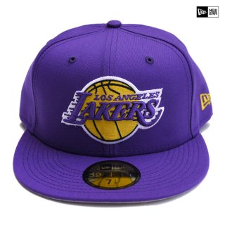 【送料無料】NEW ERA CAP LOSANGELES LAKERS【PURPLE】