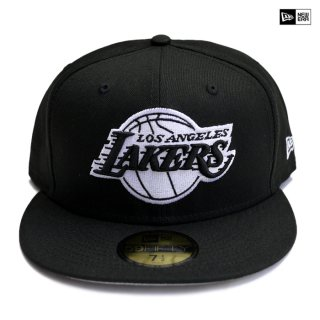 【送料無料】NEW ERA CAP LOSANGELES LAKERS【BLACK×WHITE】