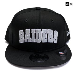 【送料無料】NEW ERA SNAPBACK CAP LAS VEGAS RAIDERS【BLACK】