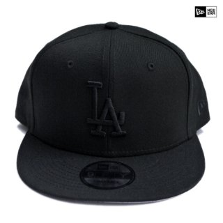 【送料無料】NEW ERA SNAPBACK CAP LOS ANGELES DODGERS【BLACK×BLACK】