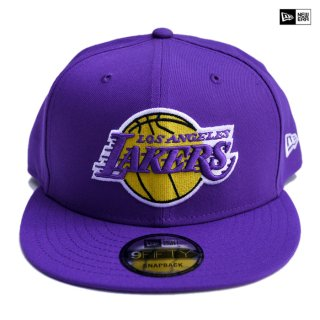 【送料無料】NEW ERA SNAPBACK CAP LOS ANGELES LAKERS【PURPLE】
