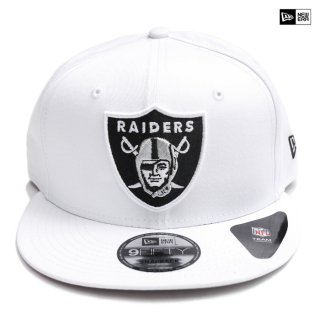【送料無料】NEW ERA SNAPBACK CAP LAS VEGAS RAIDERS【WHITE】