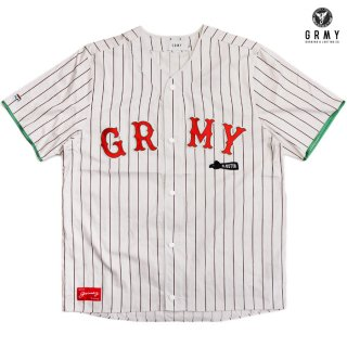 【送料無料】GRIMEY THE LOOT EL BOTIN BASEBALL JERSEY【WHITE】
