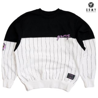 【送料無料】GRIMEY STRANGE FRUIT ALL OVER PRINT CREWNECK【WHITE】