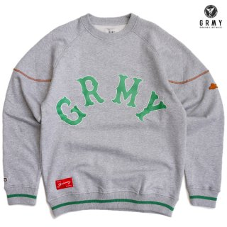 【送料無料】GRIMEY THE LOOT EL BOTIN CREWNECK【GREY】