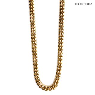 【送料無料】GOLDEN GILT MIAMI CUBAN CHAIN【GOLD】-26inch-