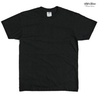 【メール便対応】SHAKA WEAR 7.5 OZ MAX HEAVYWEIGHT GARMENT DYE Tシャツ【BLACK】