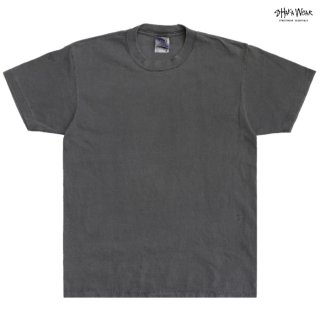 【メール便対応】SHAKA WEAR 7.5 OZ MAX HEAVYWEIGHT GARMENT DYE Tシャツ【SHADOW】