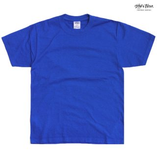 【メール便対応】SHAKA WEAR 7.5 OZ MAX HEAVYWEIGHT GARMENT DYE Tシャツ【ROYAL BLUE】