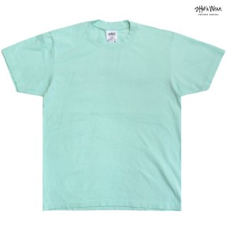 【メール便対応】SHAKA WEAR 7.5 OZ MAX HEAVYWEIGHT GARMENT DYE Tシャツ【POWDER BLUE】