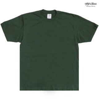 【メール便対応】SHAKA WEAR 7.5 OZ MAX HEAVYWEIGHT GARMENT DYE Tシャツ【MOSS GREEN】