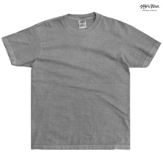 【メール便対応】SHAKA WEAR 7.5 OZ MAX HEAVYWEIGHT GARMENT DYE Tシャツ【CEMENT】