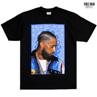 【送料無料】STREETWEAR SUPPLY NIPSEY Tシャツ【BLACK】