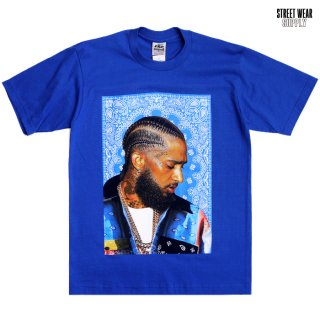 【送料無料】STREETWEAR SUPPLY NIPSEY Tシャツ【ROYAL BLUE】