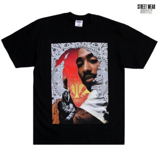 <img class='new_mark_img1' src='https://img.shop-pro.jp/img/new/icons20.gif' style='border:none;display:inline;margin:0px;padding:0px;width:auto;' />【SALE★30%OFF】STREETWEAR SUPPLY TUPAC Tシャツ【BLACK】