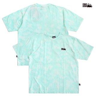 【送料無料】FIRST DOWN TIE DYE Tシャツ【MINT】